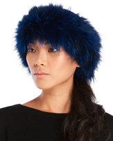 Dena Real Fox Fur Knit Headband