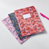 Pottery Barn Teen Rifle Paper Co. Tapestry Stitched Notebooks, Set of 3