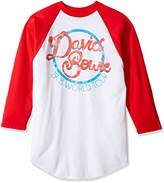 FEA Men's David Bowie 1978 World Tour Raglan Shirt