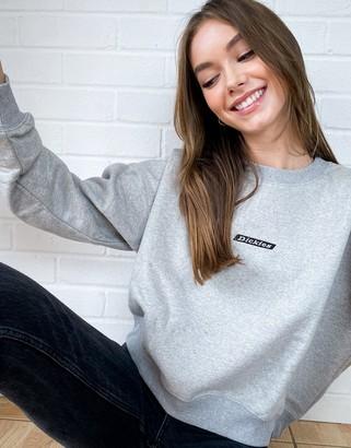 Dickies Ferriday cropped sweatshirt in grey