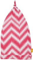 Masala Knotted Chevron Hat (Baby) - Pink/Orange-6-12 Months