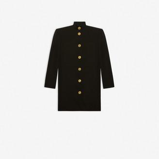 Balenciaga Campaign Buttoned Dress