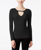 INC International Concepts Petite Cutout Sweater, Only at Macy's