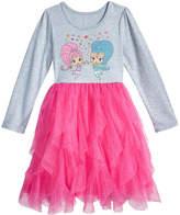 Nickelodeon Nickelodeon's Shimmer and Shine Cascading-Ruffle Dress, Little Girls