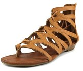 Rampage Santini Women Open Toe Synthetic Gladiator Sandal.