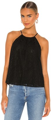 1 STATE Halter Neck Lace Top