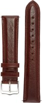 Signature Favourite watch band. Replacement watch strap. Genuine Leather. Silver Buckle