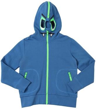 Stella McCartney Dragon Zip-up Cotton Sweatshirt Hoodie