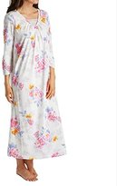 Carole Hochman Women's 3/4 Sleeve Cotton Gown