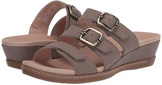 Dansko Allyson (Black Milled Nubuck) Women's Shoes