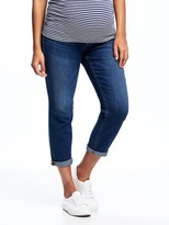 "Old Navy Maternity Full-Panel Boyfriend Eco-Friendly Jeans (24"")"