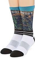 Asstd National Brand Boom Sox Sublimated Hollywood Crew Socks