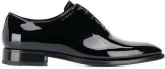 Givenchy patent leather Oxford shoes