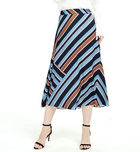 f35a6a52b931d6 Blue Chiffon Skirt - ShopStyle