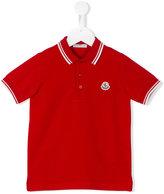 Moncler classic polo shirt - kids - Cotton - 4 yrs