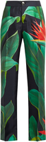 F.R.S - FOR RESTLESS SLEEPERS Cronos Flower-print silk pyjama trousers