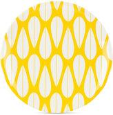 Dansk The Burbs Collection Melamine Sunflower Yellow Salad Plate