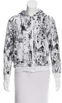Roberto Cavalli Printed Zip-Up Sweatshirt