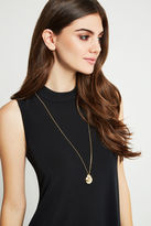 BCBGeneration Initial Locket Necklace