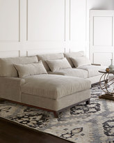 Horchow Rena Left-Facing Sectional Sofa