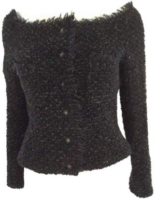 Chanel Black Wool Jacket for Women