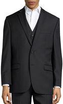 Lauren Ralph Lauren Big and Tall Two-Button Wool Jacket