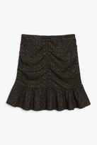 Thumbnail for your product : Monki Ruffle hem mini skirt