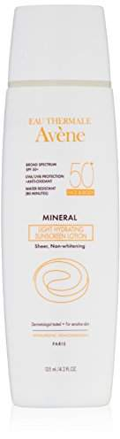 Eau Thermale Avene Mineral Light SPF 50 Plus Hydrating Sunscreen Lotion