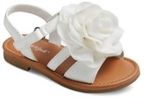 Cat & Jack Toddler Girls' Jacky Large Chiffon Flower Slide Sandals