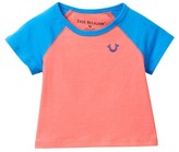 True Religion Branded Raglan Tee (Baby Girls)
