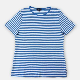 Armor Lux Women Stripe T Shirt Lapis White - XS