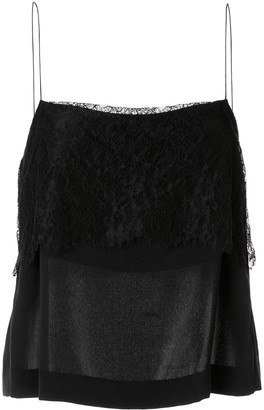 Dion Lee Sleeveless Lace Top