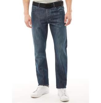 Kangaroo Poo Mens Straight Leg Jeans Dark Ink
