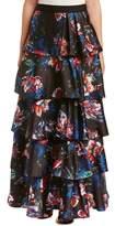 Sachin + Babi Noir Silk-blend Ball Gown Skirt.