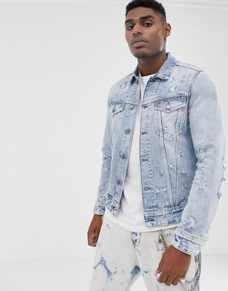 Replay Neymar denim jacket in blue