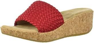 Adrienne Vittadini Footwear Women's Davis Wedge Sandal
