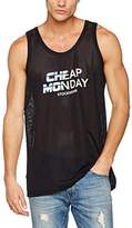 Cheap Monday Men's Slam Future Logo Tank Tops