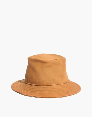 Madewell Short-Brimmed Canvas Bucket Hat