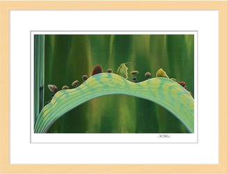 Disney A Bug's Life ''The Leaf Bridge'' Framed Giclee on Paper by Tia Kratter Limited Edition