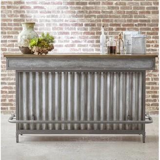 Williston Forge Baber Bar Cabinet