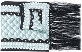 Temperley London fringed dinner scarf