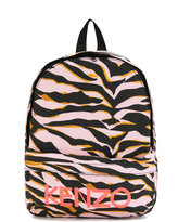Kenzo tiger print backpack - kids - Cotton - One Size