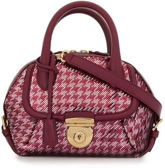 Salvatore Ferragamo Pre Owned 2010s Fiamma Sequin tote bag