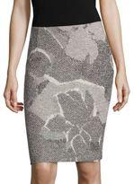 BOSS Marala Jacquard Pencil Skirt