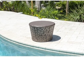 Panama Jack Maldives Glass Side Table Outdoor
