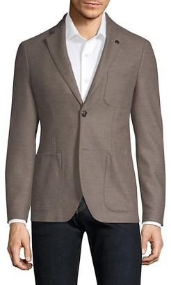 Michael Kors Buttoned Wool Blazer