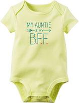 Carter's Short-Sleeve My Auntie B.F.F. Bodysuit - Baby Girls newborn-24m