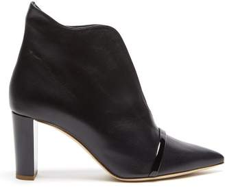 Malone Souliers Clara Cut Out Ankle Boot - Womens - Black
