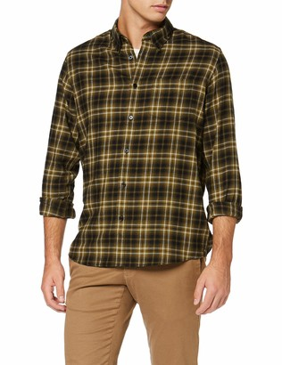Find. Amazon Brand Men's Shirt Brushed Flannel Check Long Sleeve