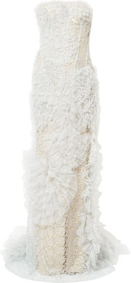 Ermanno Scervino ruffled lace dress